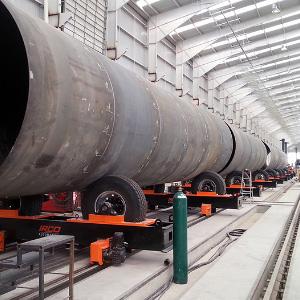 Rail Tanker Car Manufacturing Line