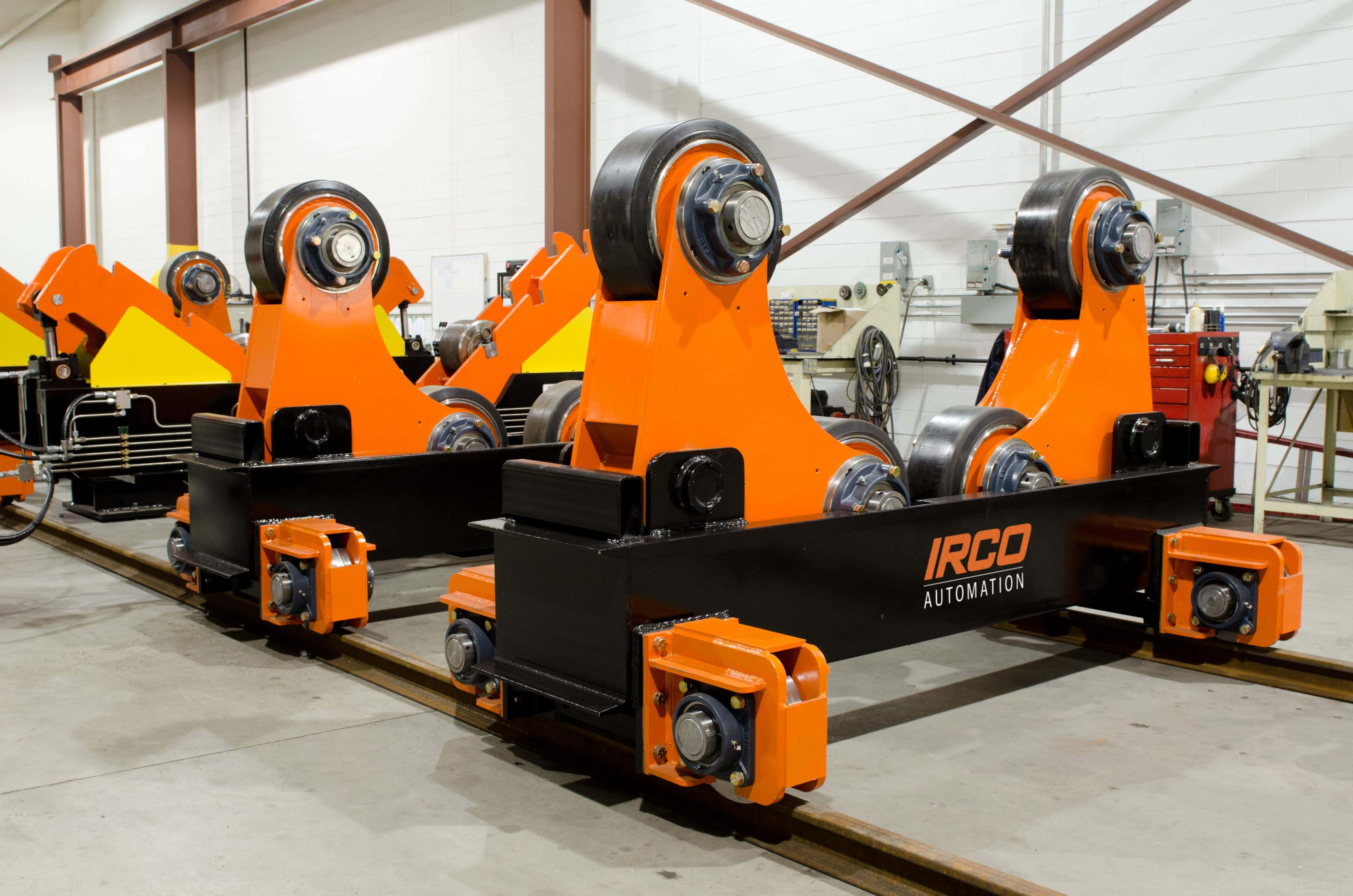 TRSA, Turning rolls with Fit-up System