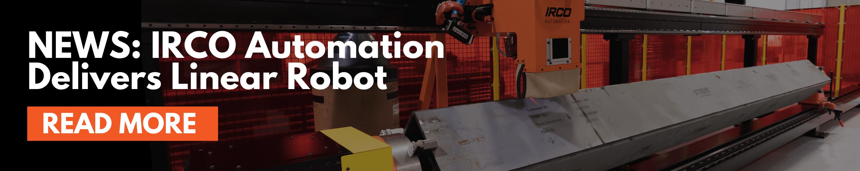 Newly designed linear welding robot for box beam welding