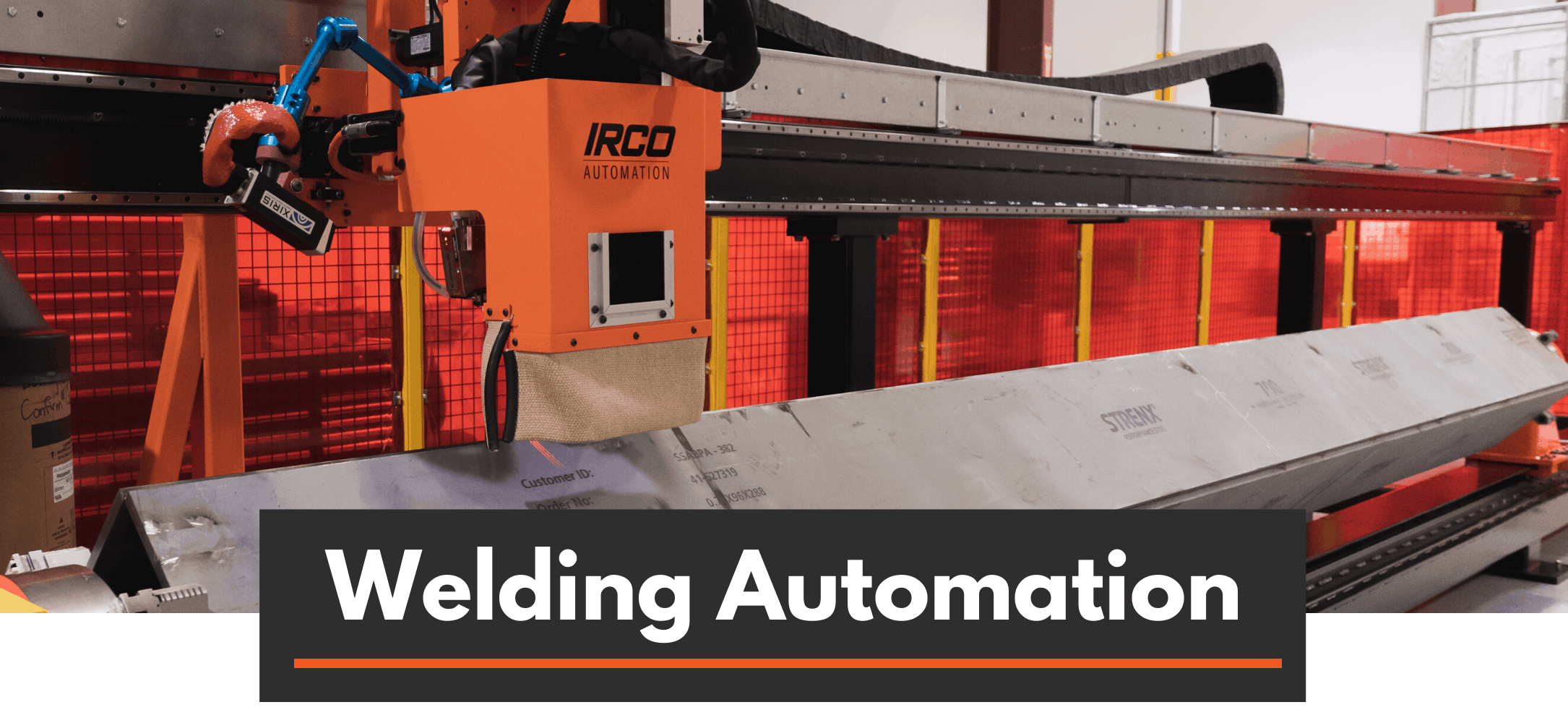 Linear Robot for box beam welding