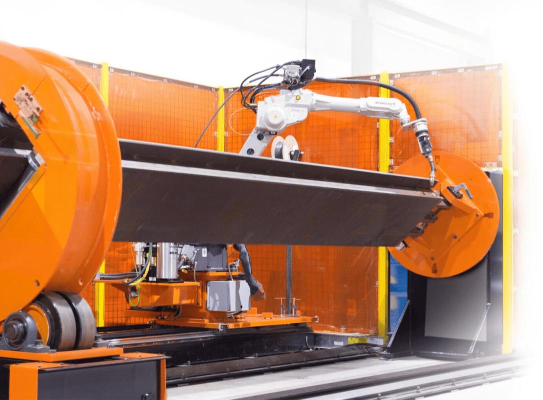 Robotic Beam Welding System