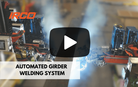 Automated girder welding system