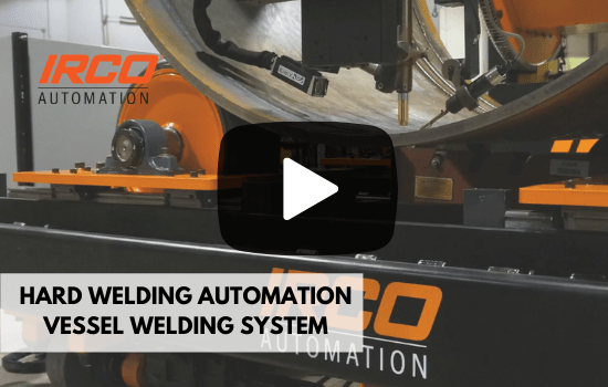 Mechanized Automated welding system for vessel welding