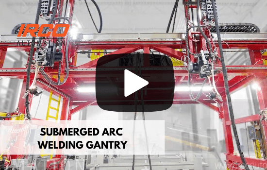 Automated Submerged Arc Welding Gantry