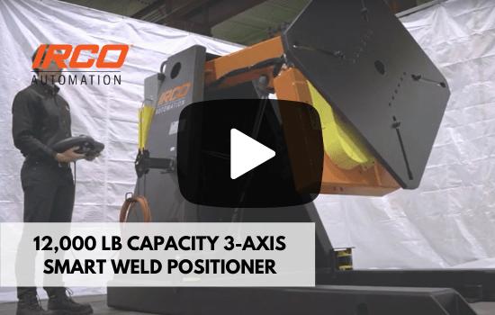 3 Axis Smart Welding Positioner