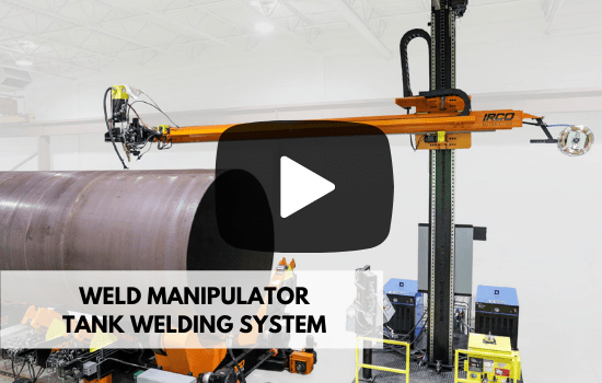 weld manipulator welding system