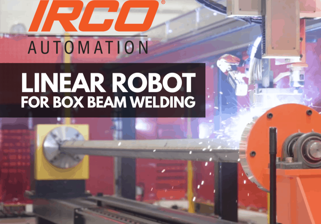 Linear Robot for Box Beam Welding (2)