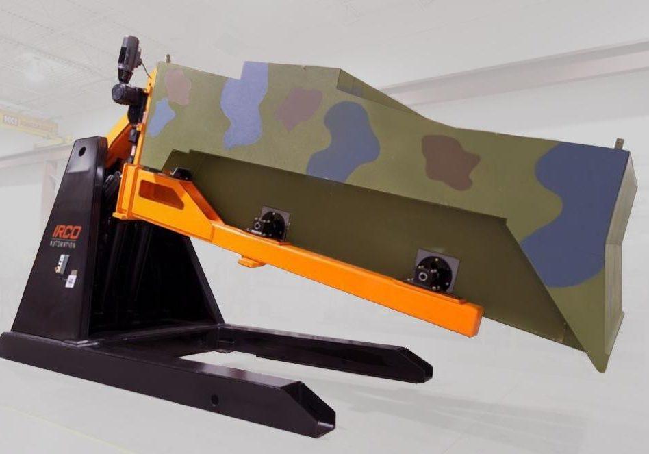 weld positioning equipment